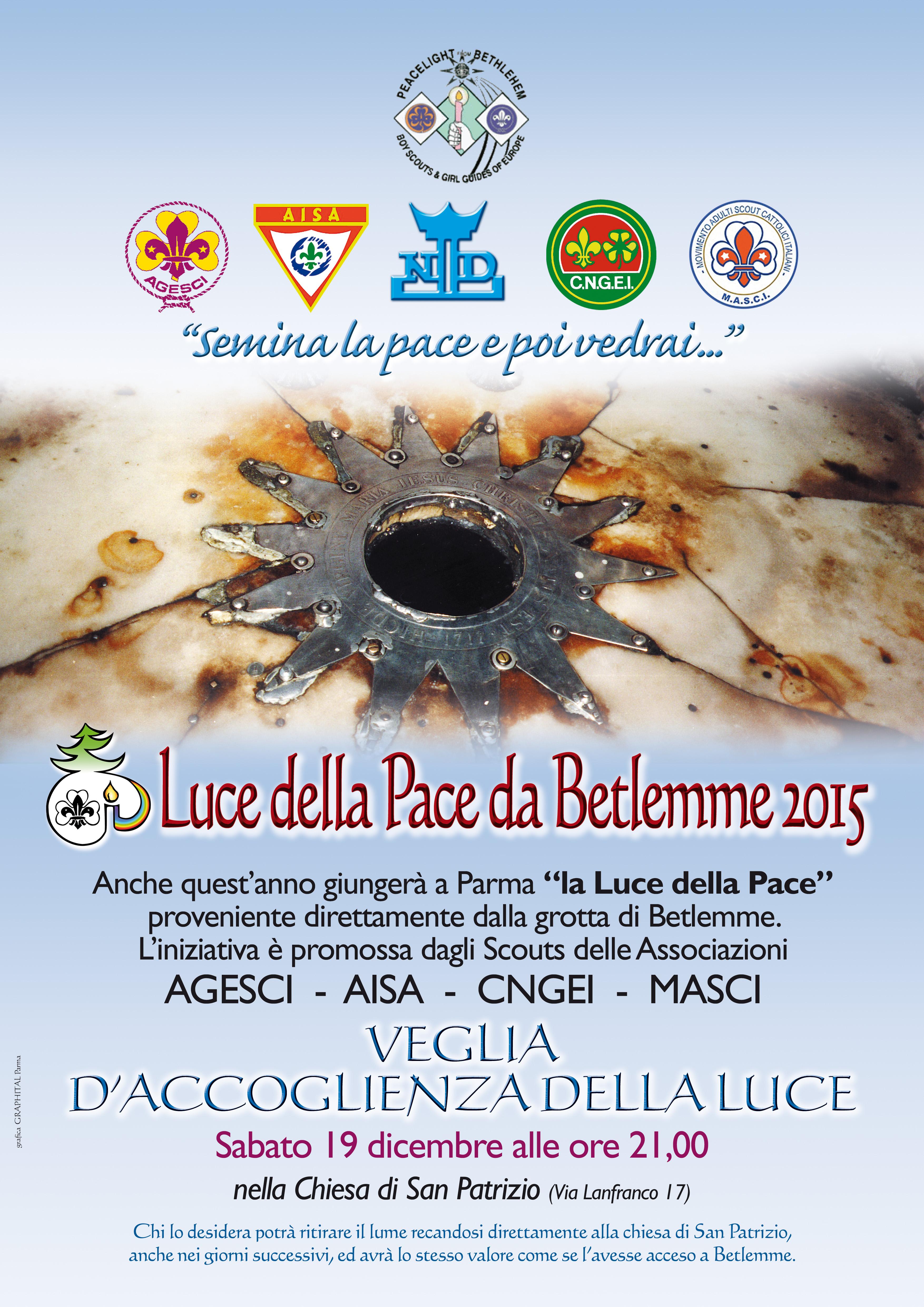 A Luce della pace da Betlemme 2015