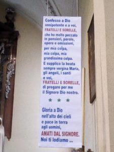 Chiesa di Fontanellato Parma - avvento 2020